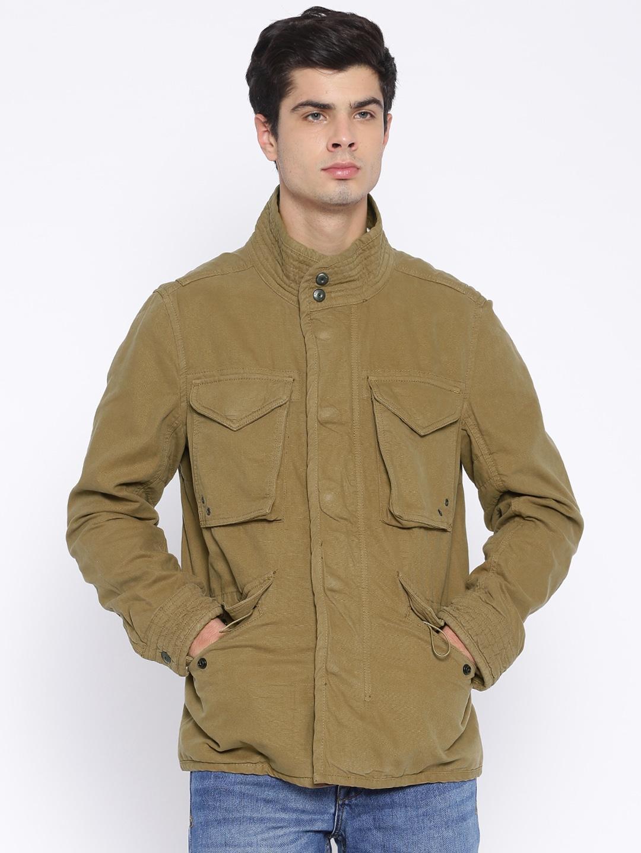 H.E. By Mango Khaki Jacket image