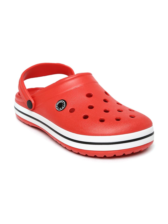 FLIPSIDE Women Red Clogs image