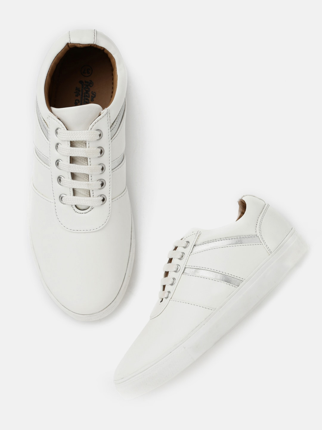 Roadster Women White Sneakers