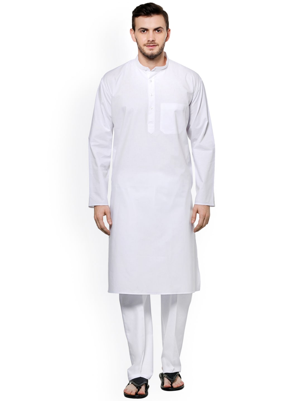 akavya White Kurta Pyjama image