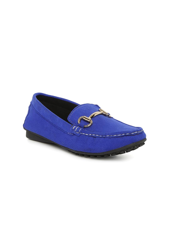 Catwalk Women Blue Solid Regular Loafers image