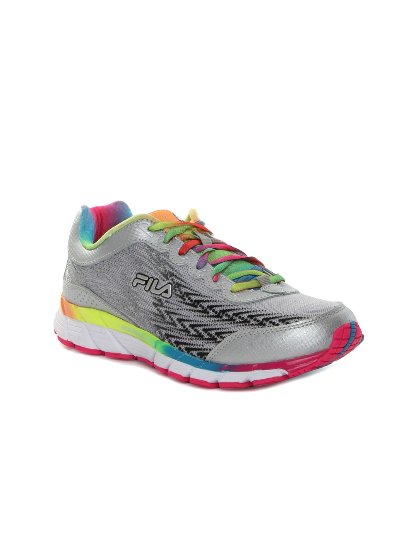 FILA Women Grey Corta Energized Running Shoes image