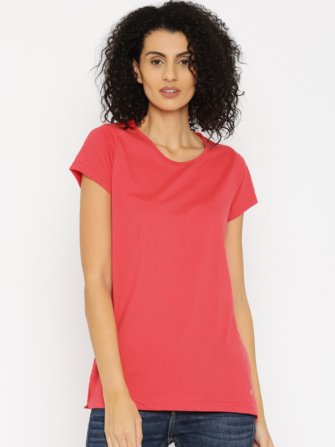 Kanvin Red Lounge Top KAW16280C image
