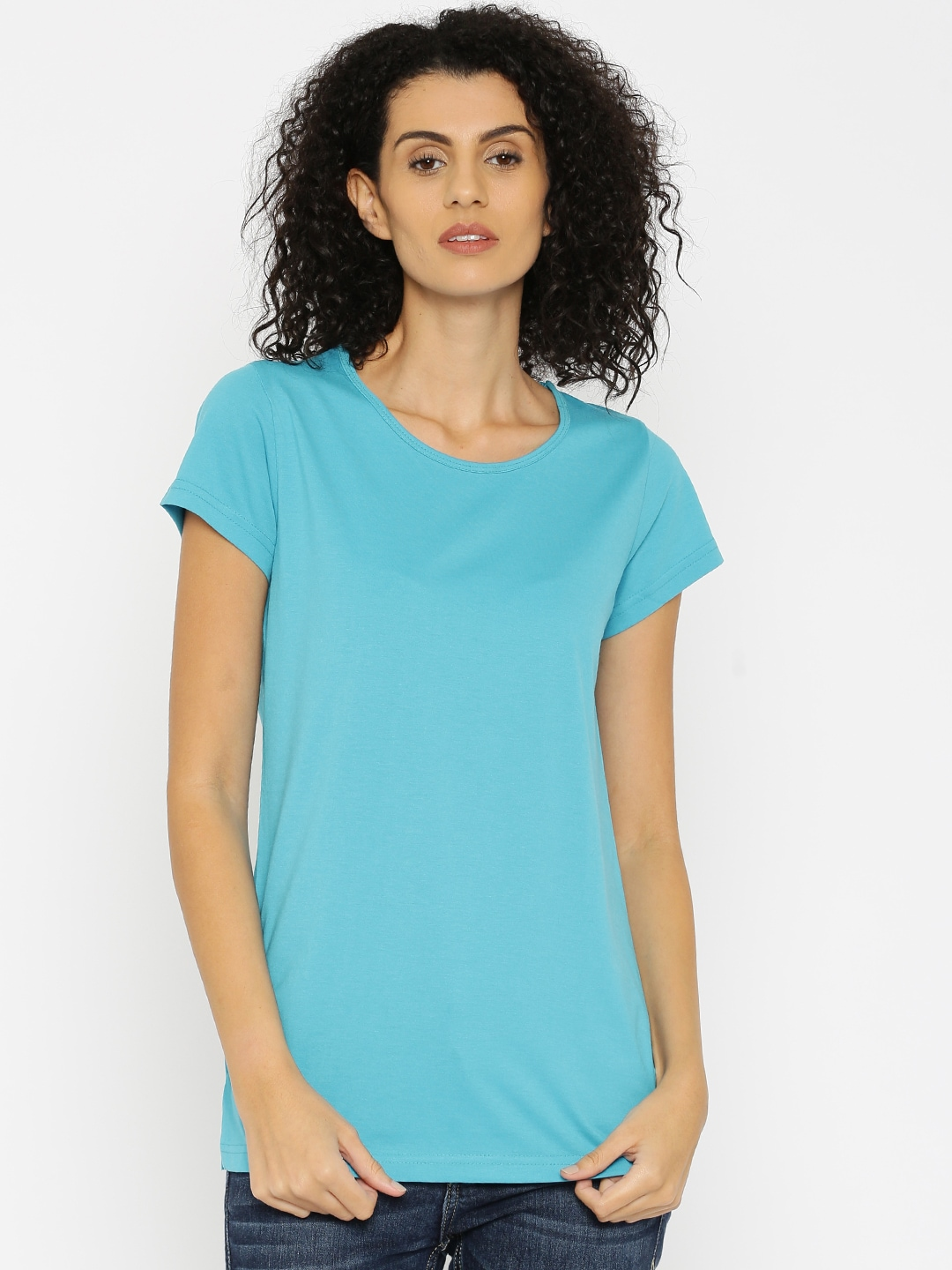 Kanvin Blue Lounge Top KAW16280D image
