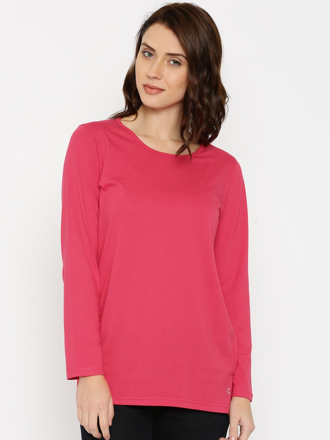 Kanvin Red Lounge Top KAW16286A image