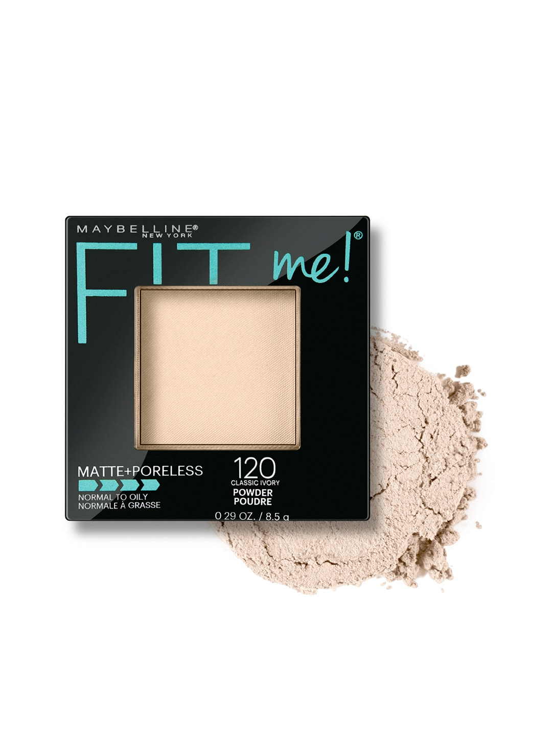 Maybelline FitMe Matte+Poreless Classic Ivory 120 Compact image