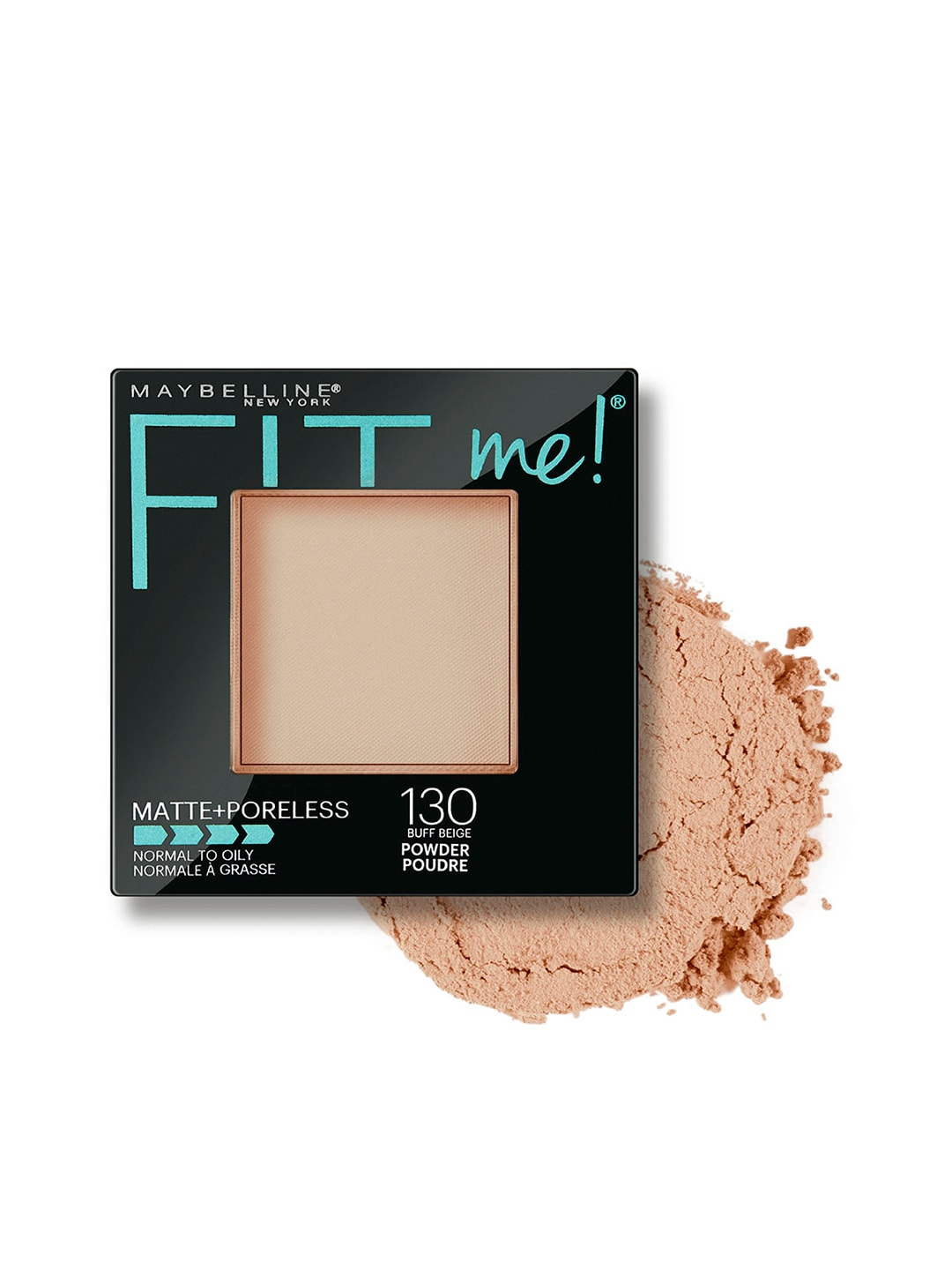 Maybelline FitMe Matte+Poreless Buff Beige 130 Compact image