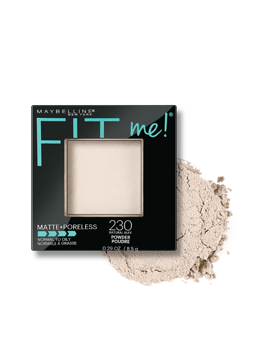 Maybelline FitMe Matte & Poreless 230 Natural Buff Compact image