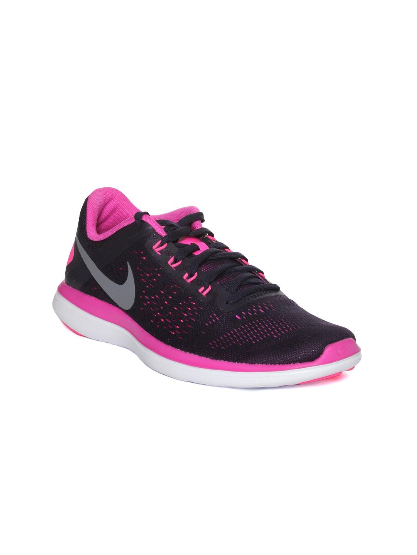 Nike Women Purple Nike Flex Running Shoes image