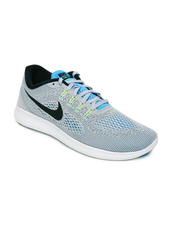 Nike Men Grey Free Running Shoes image