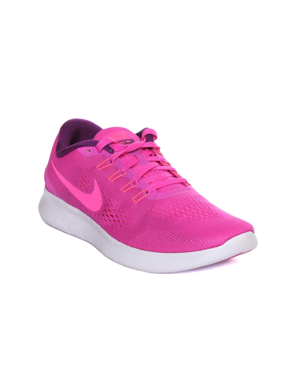 Nike Women Magenta Free Run Running Shoes image