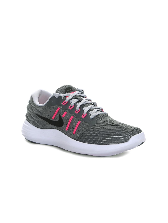 Nike Women Grey Lunarstelos Running Shoes image
