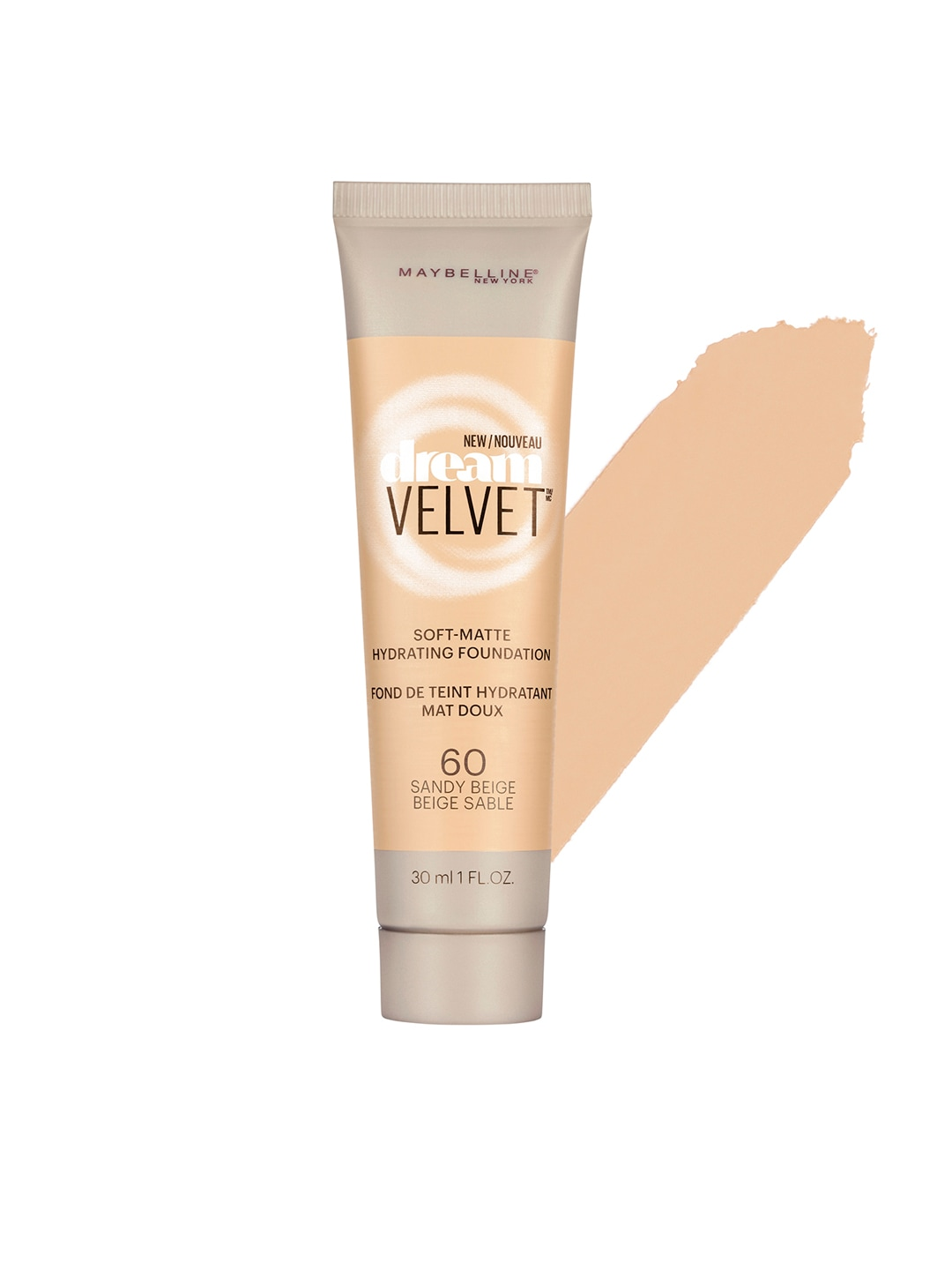 Maybelline Sandy Beige Dream Velvet Foundation 60 image
