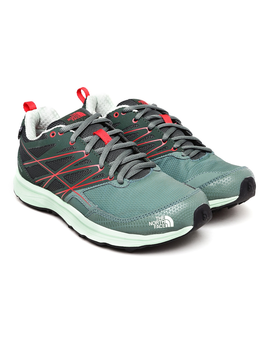 The North Face Women Green Litewave Cross Running Shoes image