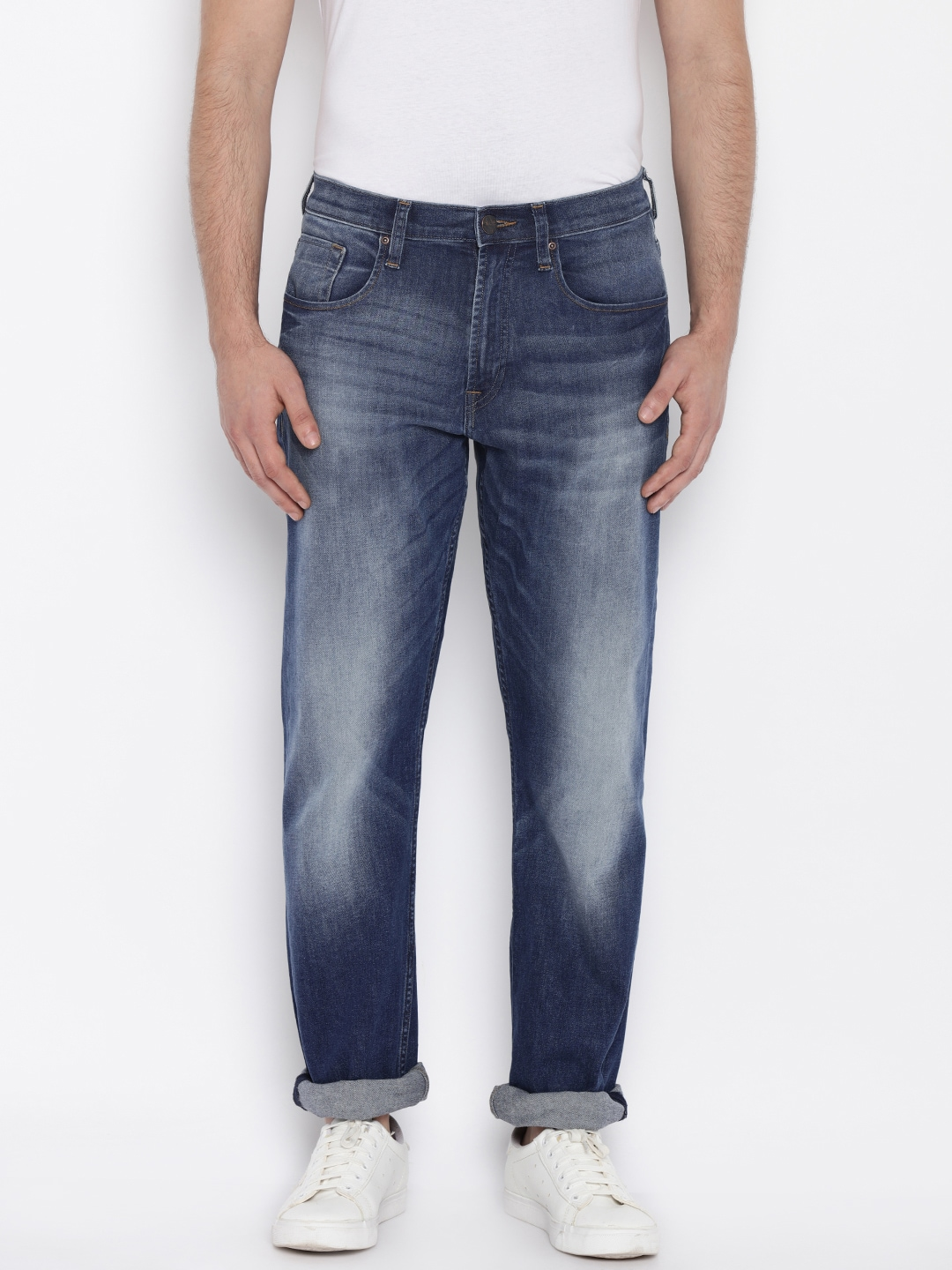 Lee Men Blue Jeans image