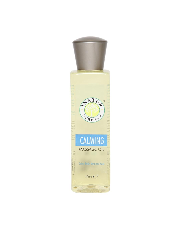 Inatur Herbals Unisex Calming Massage Oil image