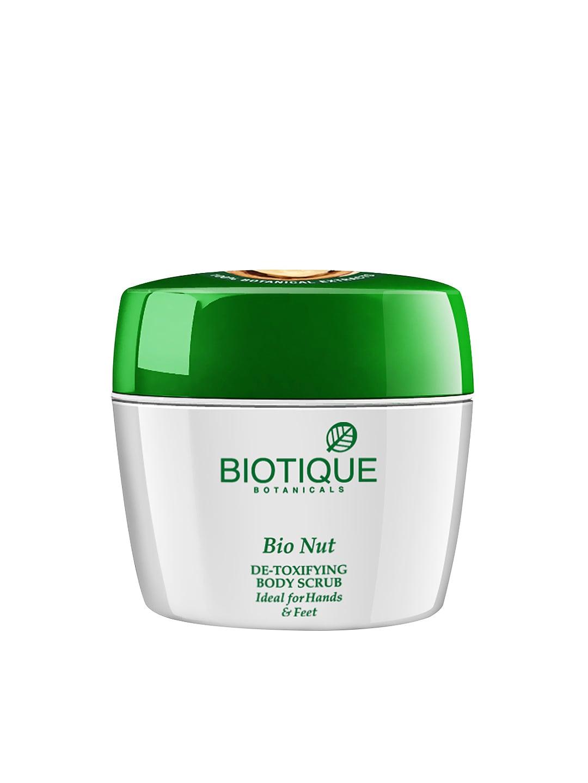 Biotique Botanicals Unisex Bio Nut Detoxifying Body Scrub image