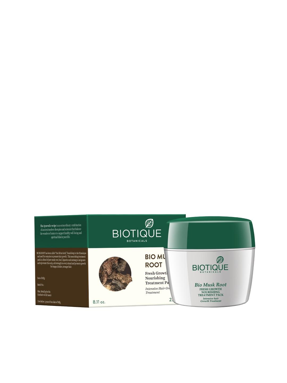 Biotique Bio Musk Root Fresh Growth Nourishing Treatment Pack image