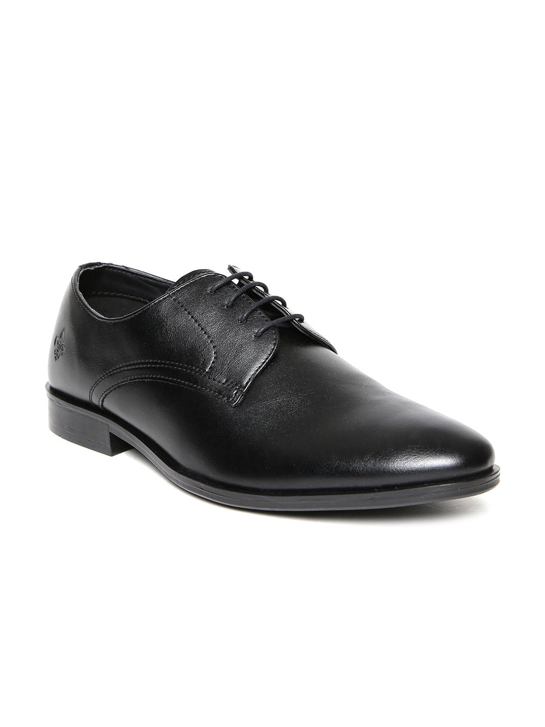 Bond Street by Red Tape Men Black Formal Shoes Price in India