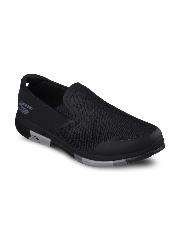 Skechers Men Black Go Walk Flex Walking Shoes image