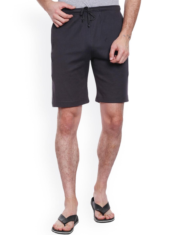 Allocate Men Grey Lounge Shorts image