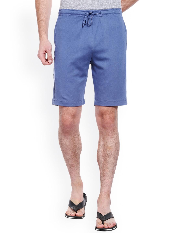 Allocate Men Blue Lounge Shorts image