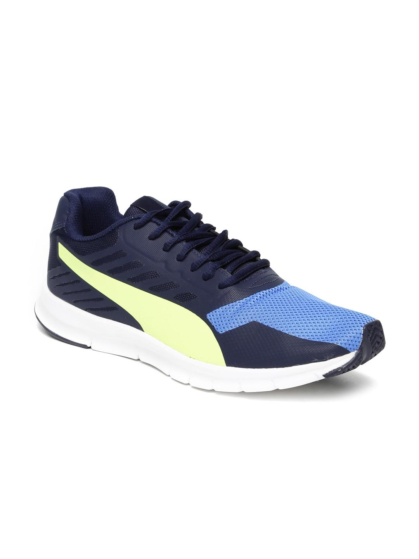 PUMA Unisex Navy Trainer Evo II Running Shoes image