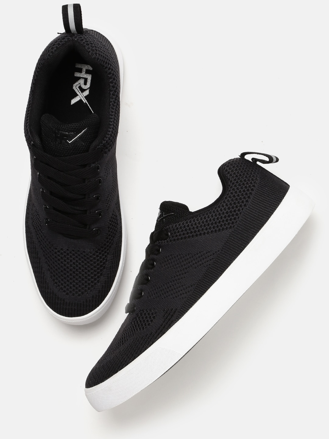 Buy HRX by Hrithik Roshan Men Charcoal Sneakers Online at Best Price in India