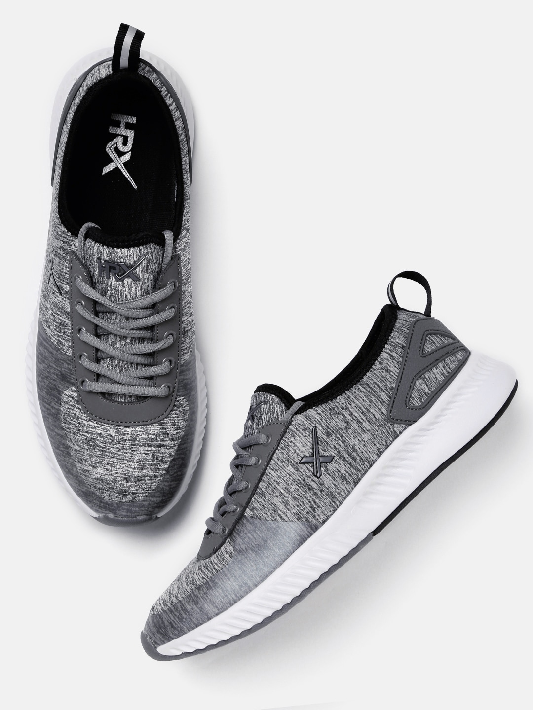 Buy HRX by Hrithik Roshan Men Grey Running Shoes Online at Best Price in India