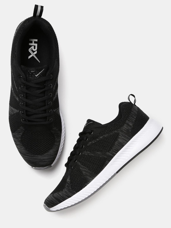 HRX by Hrithik Roshan Men's Running Shoes (Black)