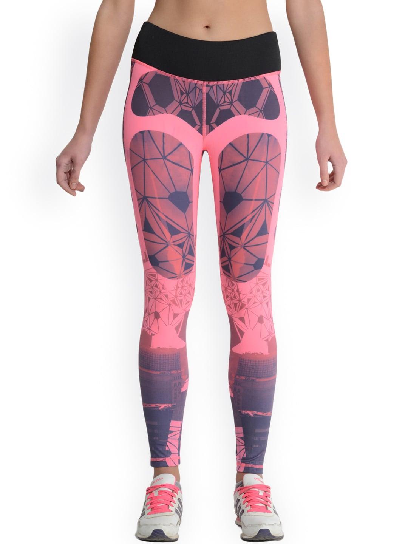 Da Intimo Pink Printed Tights image