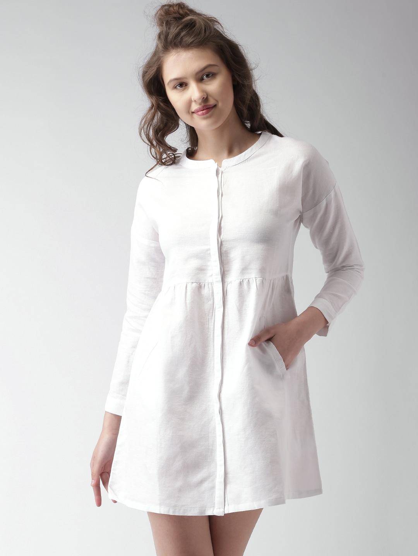 Mast & Harbour Women's White Dress
