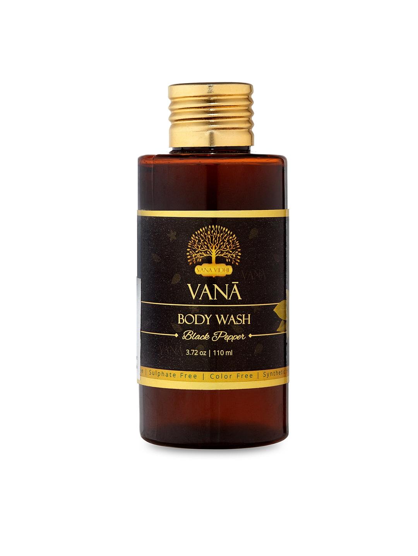 VANA VIDHI Unisex Brown Black Pepper Luxurious Body Wash image