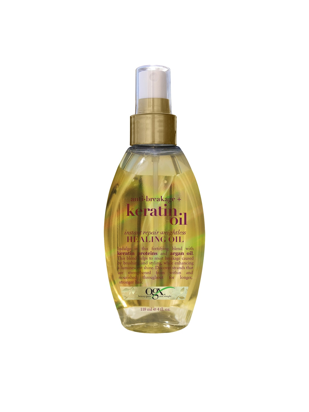 OGX Anti-Breakage Instant Repair Weightless Healing Keratin Hair Oil image
