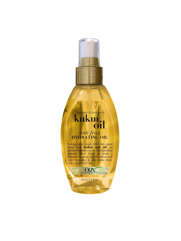 OGX Unisex Hydrate & Defrizz Kukui Anti-Frizz Hair Oil image