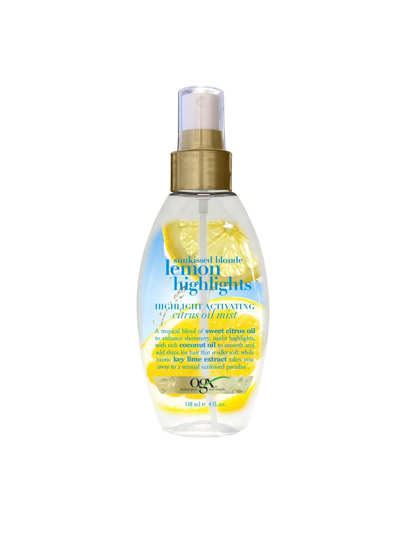 OGX Sunkissed Blonde Lemon Highlights Citrus Oil Mist image