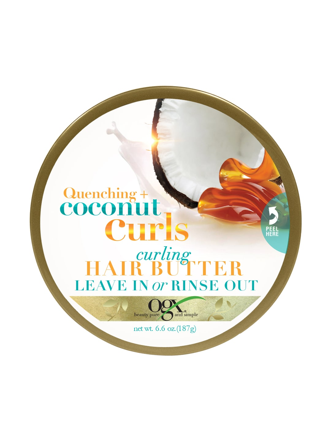 OGX Unisex Coconut Curls Curling Hair Butter image