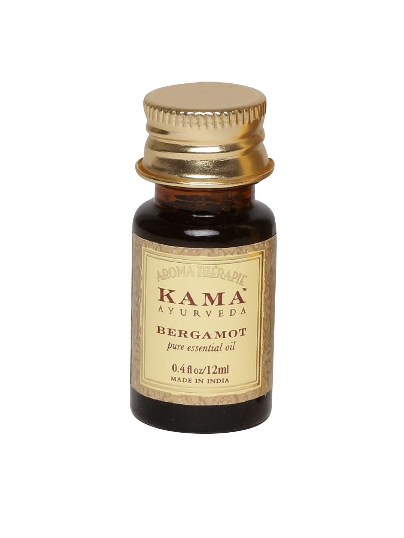 KAMA AYURVEDA Unisex Bergamot Pure Essential Oil image