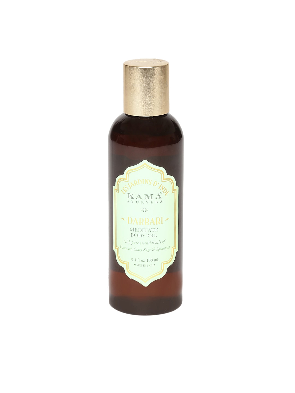 KAMA AYURVEDA Unisex Darbari Meditate Body Oil image