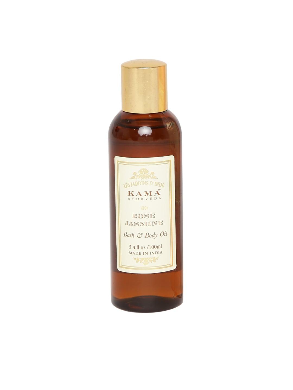 KAMA AYURVEDA Unisex Rose Jasmine Bath & Body Oil image