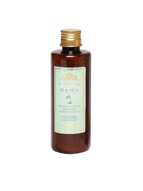 KAMA AYURVEDA Unisex Extra Virgin Organic Coconut Oil image