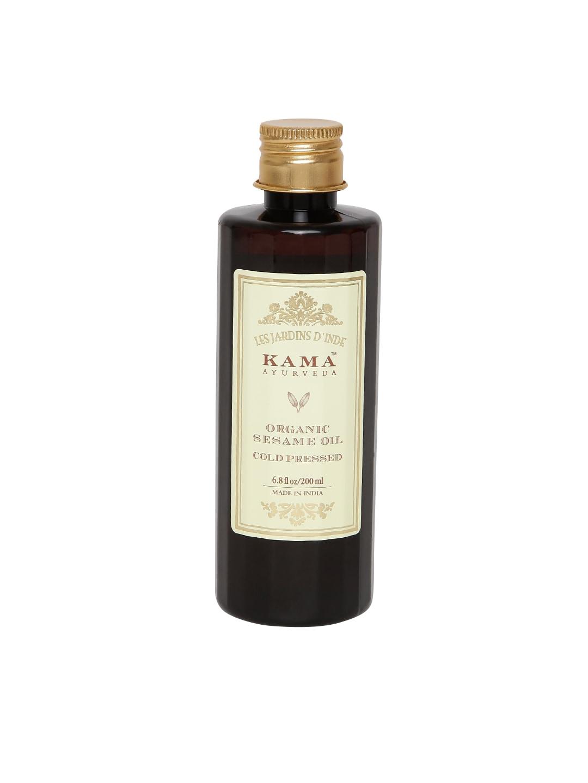 KAMA AYURVEDA Unisex Organic Sesame Cold Pressed Hair & Body Oil image