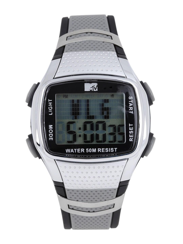 MTV Men Grey Digital Watch B7016GY image