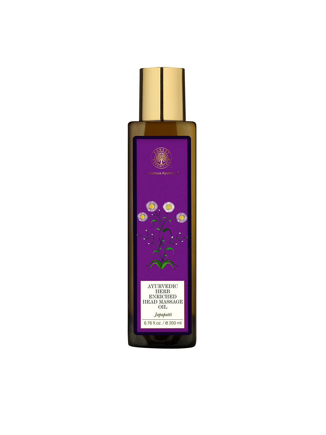 Forest Essentials Unisex Japapatti Head Massage Oil image