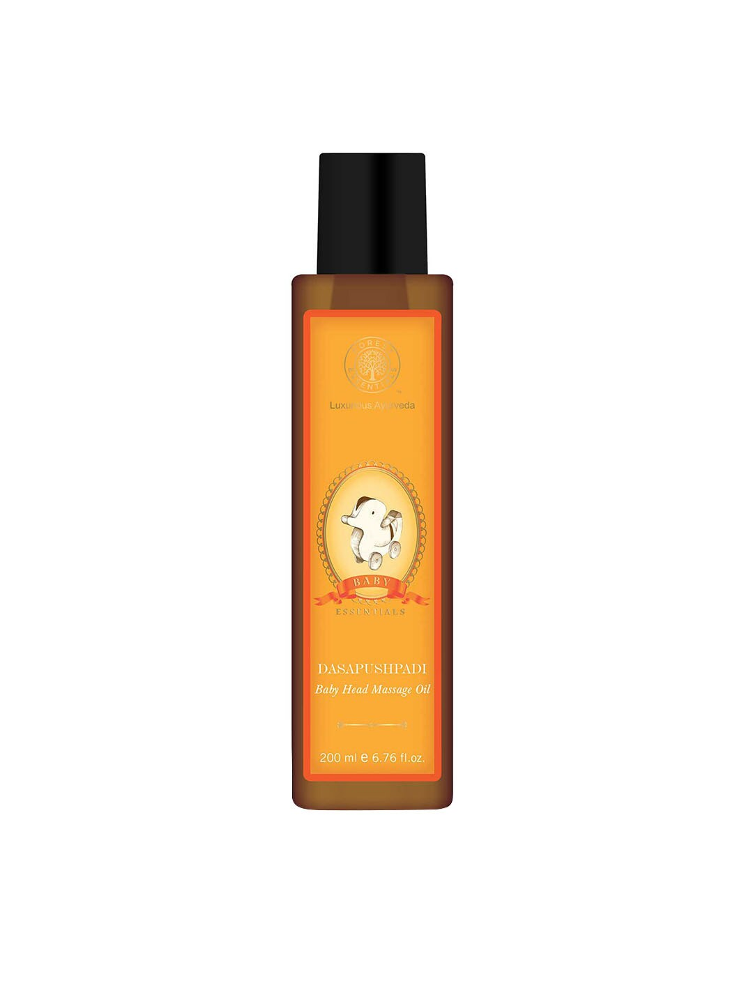 Forest Essentials Kids Dasapushpadi Head Massage Oil image
