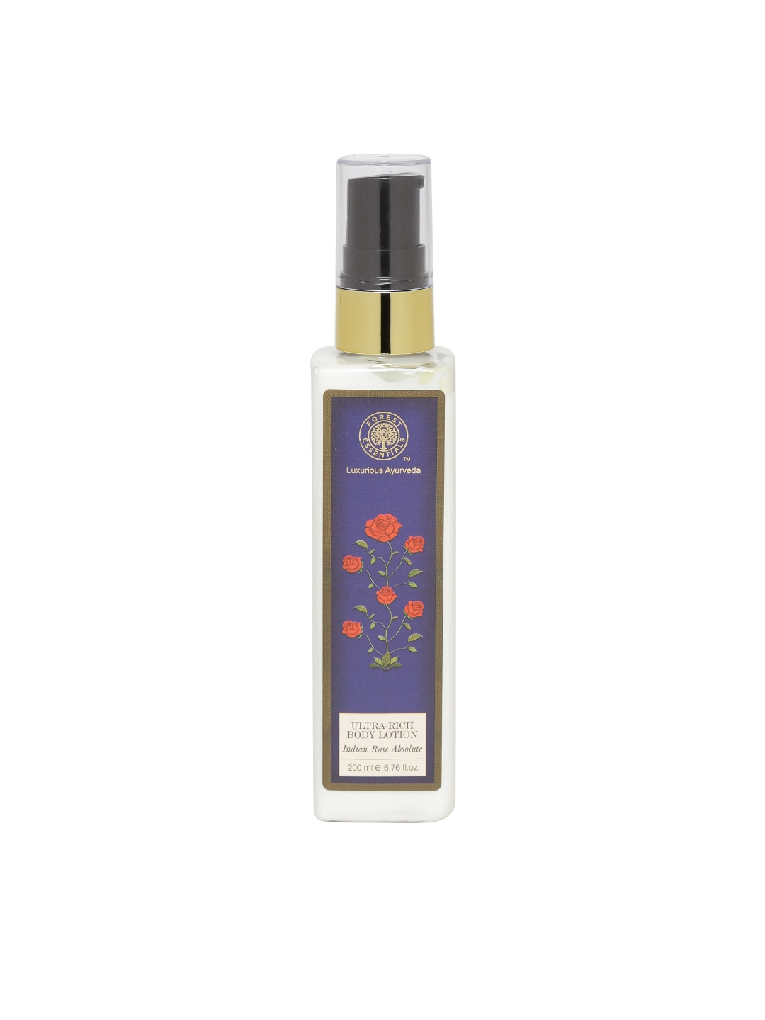 Forest Essentials Unisex Ultra-Rich Indian Rose Absolute Body Lotion image