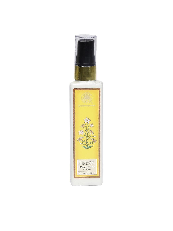 Forest Essentials Unisex Ultra-Rich Jasmine & Mogra Body Lotion image