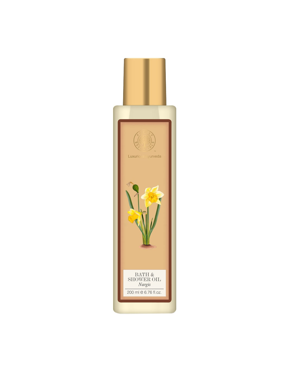 Forest Essentials Unisex Nargis Moisture Replenishing Bath & Shower Oil image