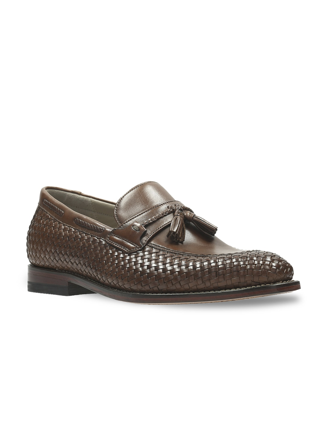 Clarks Men Brown Leather Formal Shoes image