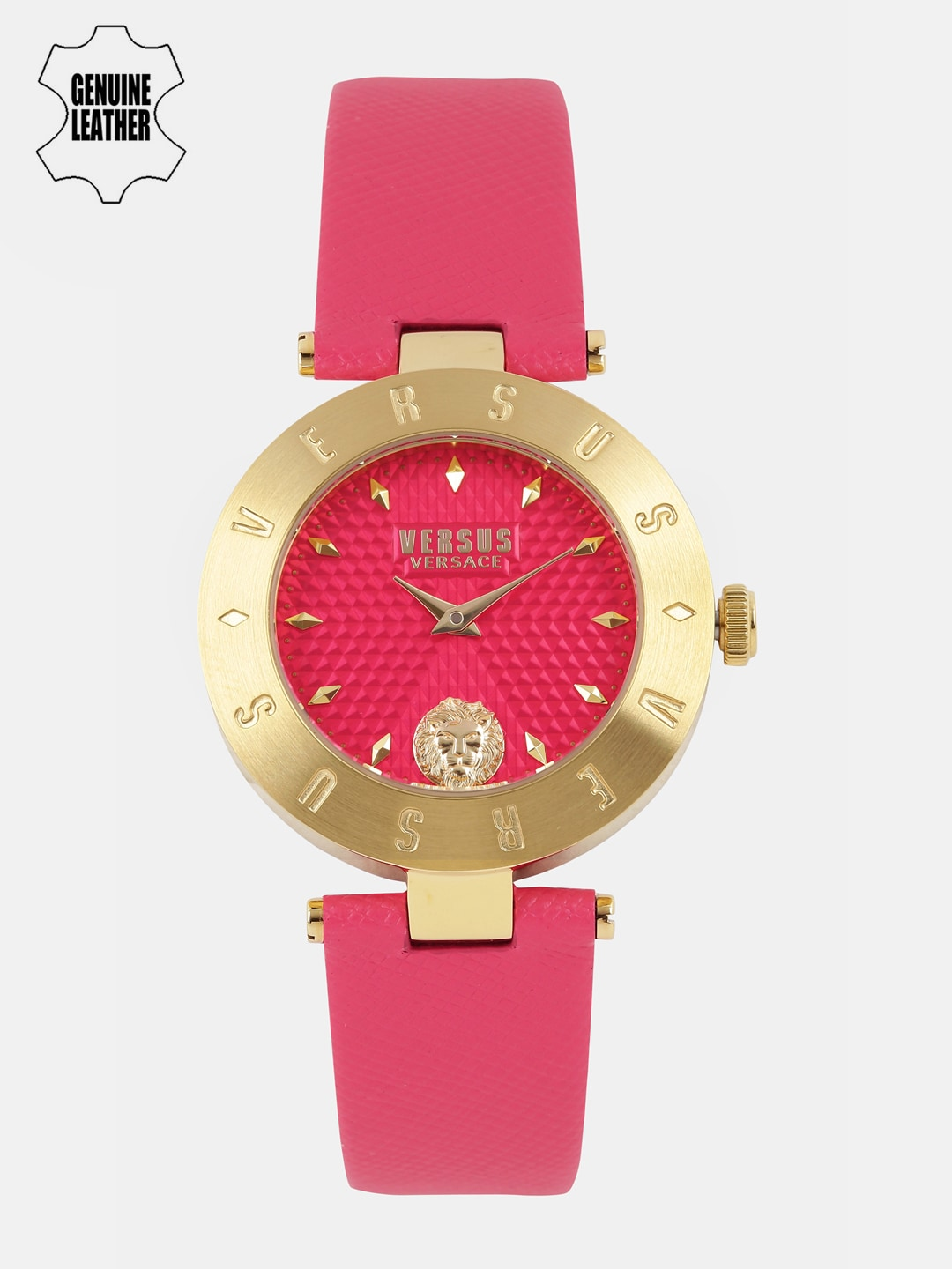 Versus by Versace Women Red Analogue Watch S7704 image